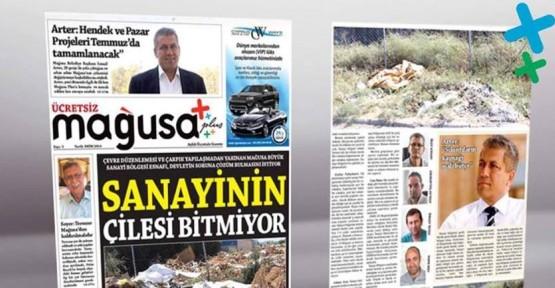 MAĞUSA PLUS GAZETESİ'NİN 5'NCİ SAYISI YAYINLANDI