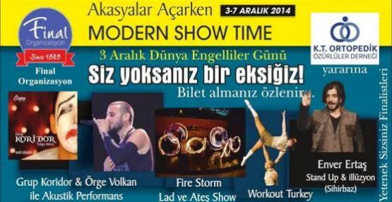 """""""MODERN SHOW TIME"""" GAÜ'DE GERÇEKLEŞİYOR"""