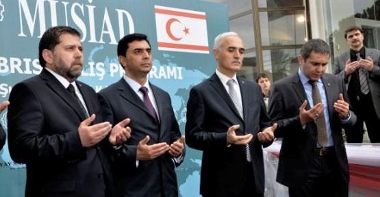 """MÜSİAD KIBRIS MERKEZİ"" AÇILDI"