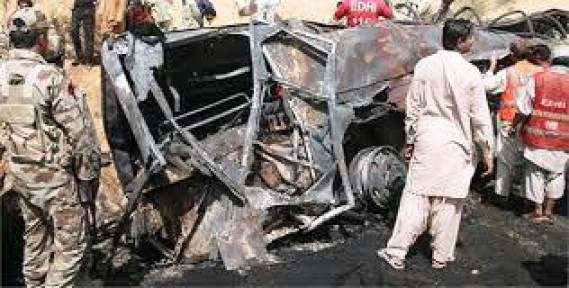 PAKİSTAN'DA BOMBALI SALDIRI: 2 ÖLÜ