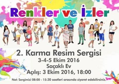 """RENKLER VE İZLER"" 2. KARMA RESİM SERGİSİ"
