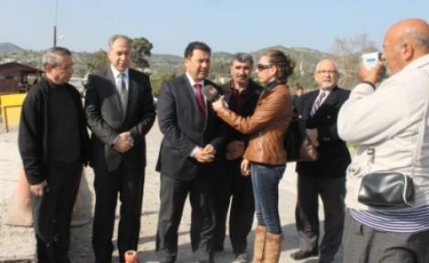 SANER, YEŞİLIRMAK-YEDİDALGA YOLUNDA İNCELEMELERDE BULUNDU