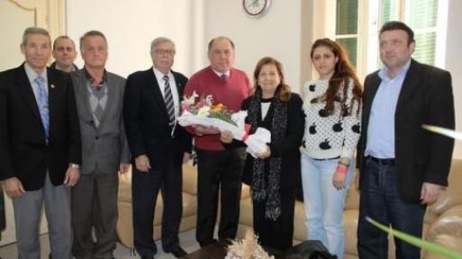 Şehit ailelerinden CTP'ye ziyaret