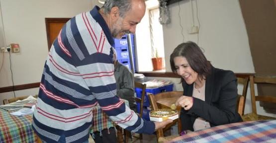 SİBEL SİBER DİKMEN'İ ZİYARET ETTİ