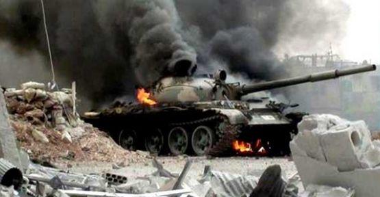 Suriye'de 4 tank, 34 asker vuruldu iddiası