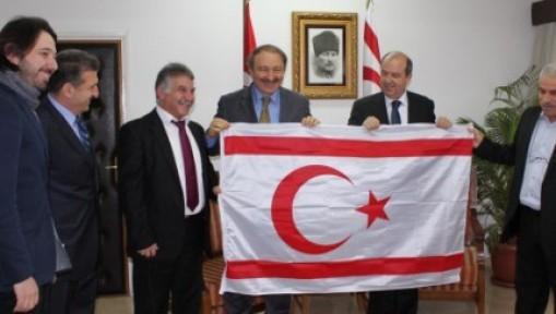 TATAR, AKP TRABZON MİLLETVEKİLİ OZAK'I KABUL ETTİ