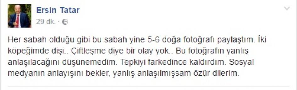 TATAR ÖZÜR DİLEDİ
