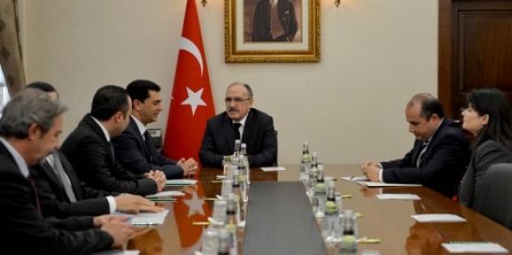 TC BAŞBAKAN YARDIMCISI ATALAY NAMİ'Yİ KABUL ETTİ