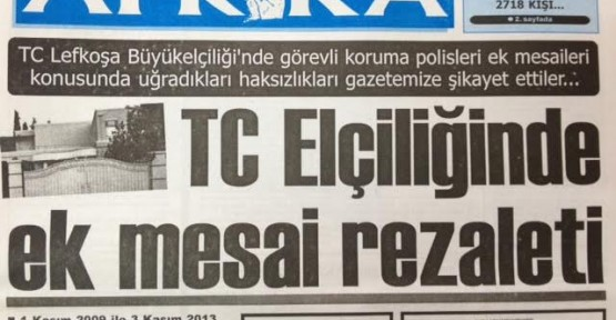 TC LEFKOŞA ELÇİLİĞİ AÇIKLAMA YAPTI