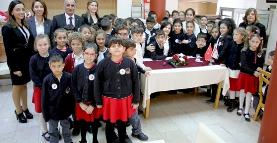 TED ÖĞRENCİLERİ MECLİS'İ ZİYARET ETTİ