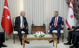 """Bozkır: """"Kıbrıs bizim için her zaman birinci öncelik"""""""