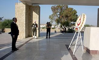 Dr. Fazıl Küçük Anıtı'nda tören...