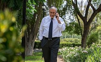 Akıncı, Lute ile telefonda görüştü...