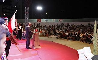 Akıncı Pulya festivalinde konuştu...