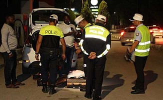 Polisin denetimleri aralıksız sürüyor....