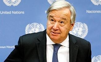Guterres: Referans kavramlar üzerinde anlaşmaya varılmalı...
