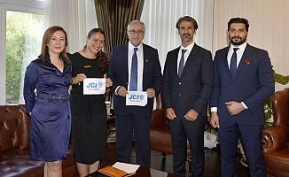 Akıncı, Junior Chamber of International Kuzey Kıbrıs Başkanı ile görüştü