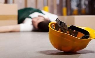 Girne'de iş kazası