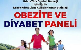 Lions Kulüpleri Obezite ve Diyabet Paneli gerçekleştiriyor.