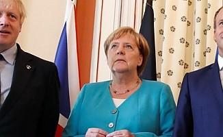Macron, Johnson ve Merkel Erdoğan ile görüşecek...