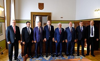 Belediyeler Birliği Bosna Hersek'te temaslarda bulundu...