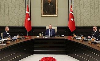 """""""Doğu Akdeniz'deki gelişmeler değerlendirildi"""""""