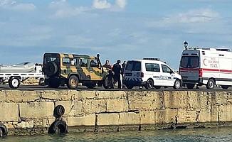 Girne Limanı'ndaki arama çalışamaları sürüyor...