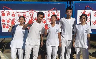 """LAÜ'de """"AIDS Gününde  Farkındalık Etkinliği"""" gerçekleşti"""