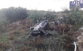 Lefkoşa- Girne Anayolu'nda kaza...