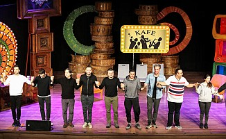 KKTC, Güldür Güldür Show'a ev sahipliği yaptı
