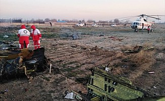 Ukrayna uçağı İran'da düştü! 176 ölü...
