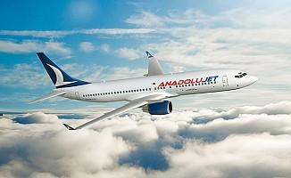 1 Dolarlık Anadolu jet Uçuşlarına Ercan da dahil edildi...