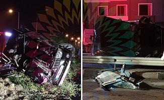 Gazimağusa-İskele yolunda iki kaza!