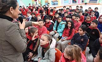 İlkokul öğrencileri çocukluk çağı kanserleri konusunda bilgilendirildi
