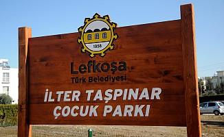 İlter Taşpınar anısına çocuk parkı açıldı