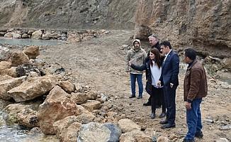 Kayalar Balıkçı Barınağı'ndaki tadilat çalışmalarında sona gelindi
