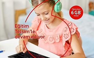 Vodafone TV eğitimin hizmetinde