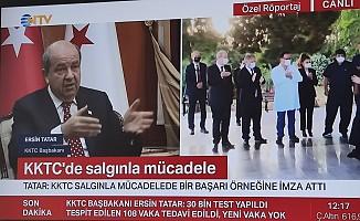 Başbakan Tatar, NTV'ye konuştu...