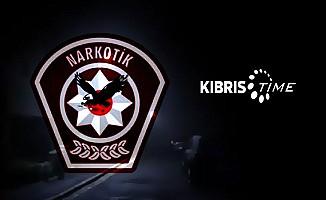 Çatalköy'de bir evde uyuşturucu bulundu...