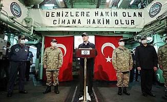 """""""Kıbrıslı kardeşlerimizin hakkını, hukukunu korumakta kararlıyız"""""""