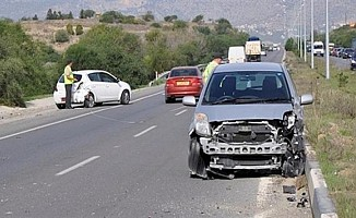 1 haftada 39 trafik kazası meydana geldi