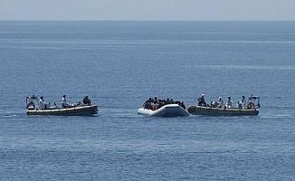 Akdeniz - Yayla sahilinden ülkeye kaçak girdiler...