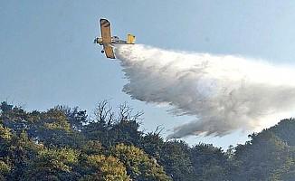 Güney'den gelen üç uçak yangına müdahale etti!