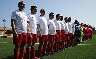 Cumhuriyet Meclisi Futbol Takımı ile KKTC Master Futbol Takımı karşı karşıya geliyor