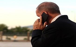 Erdoğan ile Tatar telefonda görüştü