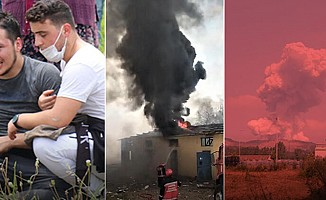 Sakarya'da havai fişek fabrikasında patlama: 2 can kaybı, 73 yaralı