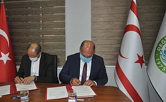 Özersay ile Karavezirler arasında protokol imzalandı