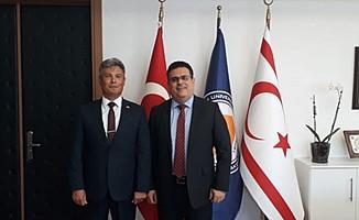 Sivil Savunma Teşkilatı Başkanlığı'ndan DAÜ'ye ziyaret