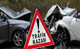 Bir haftada 53 trafik kazası...