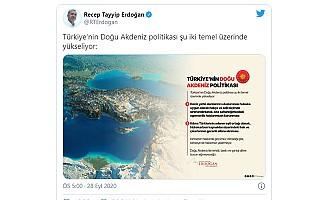 """""""Doğu Akdeniz'de tehdit, baskı ve şantaj diline boyun eğmeyeceğiz"""""""